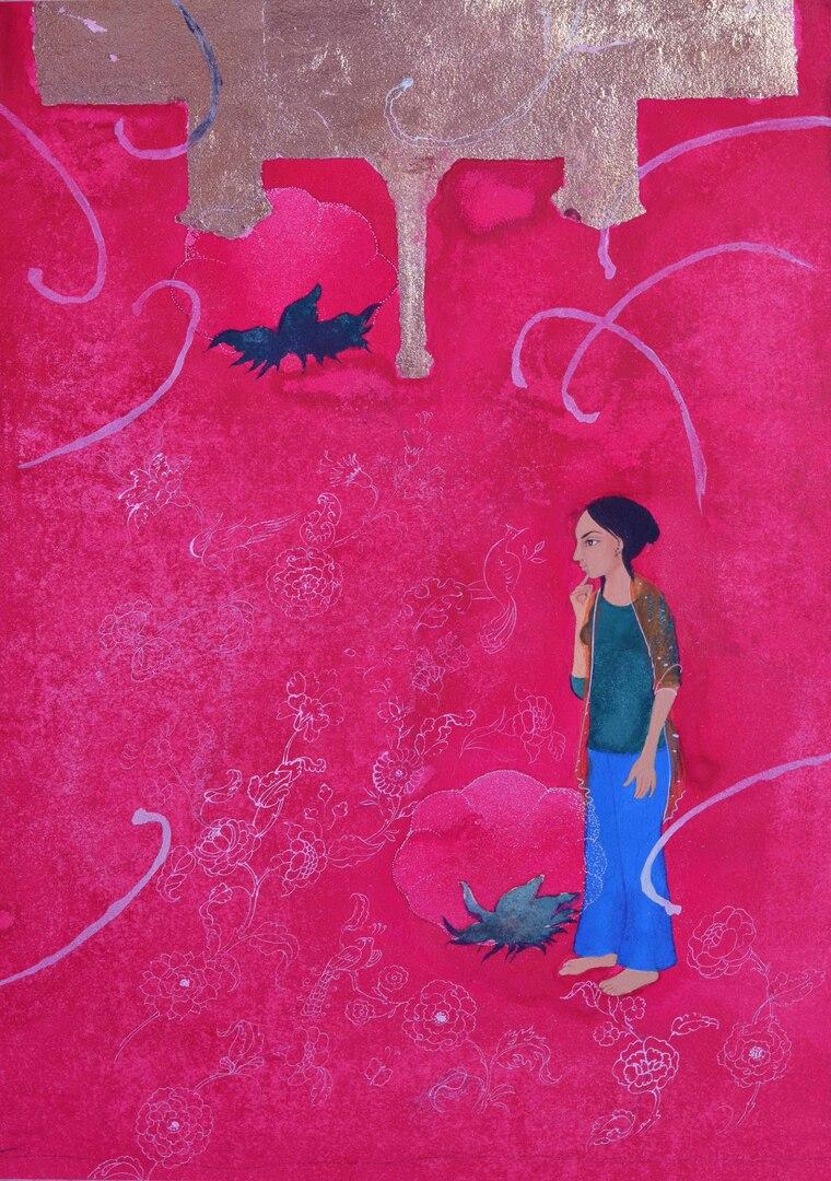 Work by Saima Rasheed
